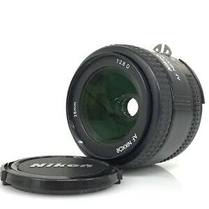 Nikon AF Nikkor 28mm F2.8 D Wide Angle Prime Lens from Japan [KC]