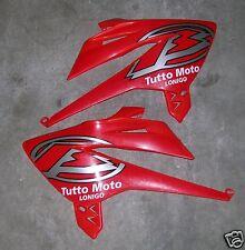 Coppia Fiancatine Fiancatina Radiatore Beta RR 4T del 2005 Colore Rosso F. USATE