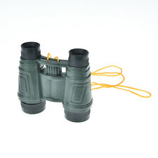 1x plastic kid children magnification toy binocular telescope +neck tie strap as