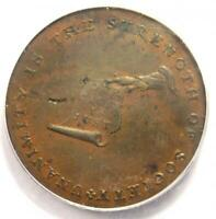 1792 Kentucky Lancaster Cent 1C - Certified PCGS MS62 (BU UNC) - $750 Value!
