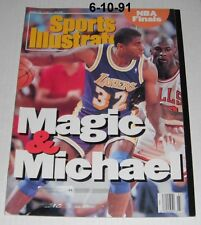 Sports Illustrated + other Mags-3 Magic Johnson covers-C...1991-1996
