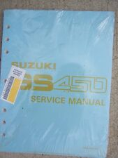 1990 Suzuki GS450 Motorcycle Service Manual Maintenance Tune Up Engine Bike  T