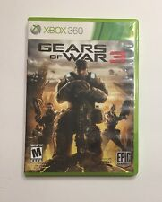 Gears of War 3 (Microsoft Xbox 360, 2011) With Stickers - Tested & Working
