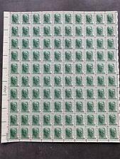 USA Briefmarken Bogen 100x 1 Cent 1963 Andrew Jackson #26295-S