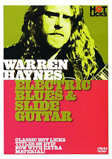 Learn WARREN HAYNES Electric Blues and Slide Guitar DVD