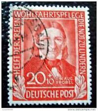 ALLEMAGNE RFA - timbre - yvert et tellier n°5 obl - stamp germany