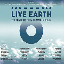 Live Earth: The Concerts for a Climate in Crisis, New DVD, Various artists,
