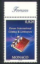 Monaco 2006 Literature/Books/Films/Cinema/Arts Forum 1v (n38314)