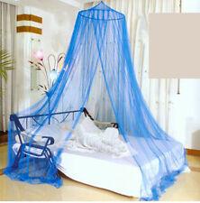 Mosca Mosquito Decorativa Azul Net dosel cama malla para un solo doble King Size