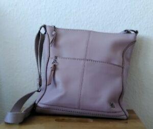 Umhängetasche Damen, Handtasche, The Sak, gebraucht, helles flieder