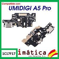 PLACA DE CARGA UMIDIGI A5 PRO CONECTOR MICROFONO MICRO USB ANTENA PUERTO JACK
