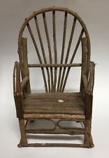 Rustic Child's Doll Chair Handmade Twigs and Sticks 13.75�