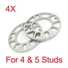 4Pcs 12mm UNIVERSAL 4x100 & 4x108 CAR Wheel Spacers For GMC Audi VW BMW 4/5 STUD