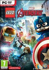 LEGO Marvel Avengers (PC DVD) BRAND NEW SEALED