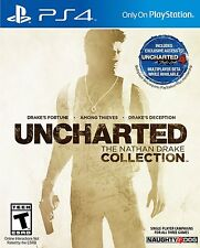 *New* Uncharted: The Nathan Drake Collection (Sony PlayStation 4, 2015)