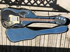 HAGSTROM  VINTAGE BASS GUITAR AND CASE - PARTS OR PROJECT