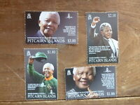 PITCAIRN Is 2014 NELSON MANDELA SET 4 MINT STAMPS
