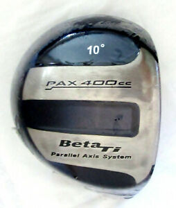 Pax 400cc Beta Ti PAX 400 Driver Head 10* Parallel Axis System ~200 G Component