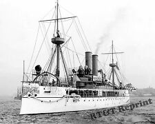Photograph of US the Navy Battleship USS Maine Yr.1897 8x10