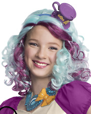 Le Ragazze Ufficiale MADELINE HATTER Ever After High Costume Parrucca Vestito