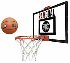 Ramgoal Mini Basketball Hoop Mounted Backboard Over The Door Indoor Outdoor