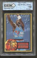 1996-97 Michael Jordan Fleer All-Star Retro #282 Gem Mint 10 Chicago Bulls