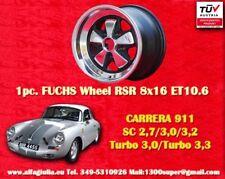 1 cerchio Porsche 911 Turbo SC Felge Fuchs 8x16 ET10.6 TÜV wheel jante llanta