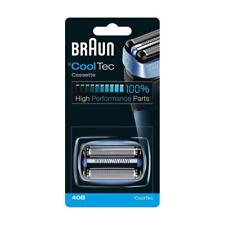 Braun 40B de reemplazo de casete de cabeza para ° CoolTec Afeitadora Foil & cutter pack