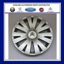 "NEW GENUINE CITROEN BERLINGO 2008-2016 15"" WHEEL TRIM X1 98136143VV"
