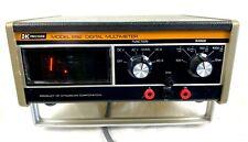 Vintage Dynascan Bk Precision Model 281 Digital Multimeter Pre Owned