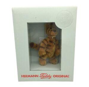 Rare Hermann Teddy Limited Edition TIGGER Winnie The Pooh Miniature in Box
