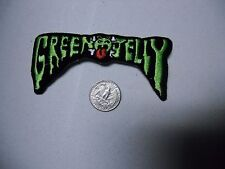 Green Jelly Tool Gwar metal FUZZY SEW/IRON ON EMBROIDERED PATCH NEW