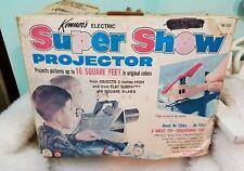 Vintage 1965  Kenner's Super Show Toy Projector In Original Box-Works!