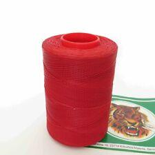 Tiger Thread 25 Waxed Flat Braided Leather Sewing Thread Ritza 0.8 Red JK 62