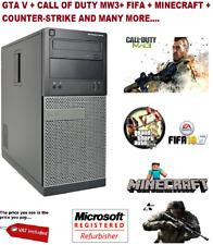 ULTRA FAST Intel core i5 Quad Core 8GB 1TB Desktop Gaming PC Computer 2GB GAMING