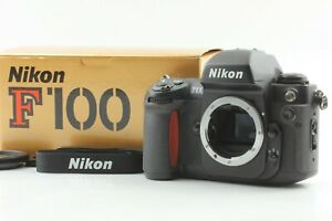 [MINT in BOX] Nikon F100 35mm Film Camera Body Strap From Japan