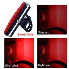 MTB Fahrrad Bike Super Hell Rücklicht Rücklampe 6 Modi Breite LED-Warnlampe