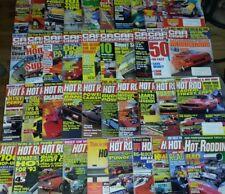 Back Issue Magazine Lot 40 Hot Rod Rodding Car Craft Street,Custom,Muscle Cars