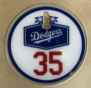 Cody Bellinger Dodgers 35 Bat Knob Decal