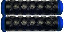 KAWASAKI JET SKI 300 440 550 650 SX JS PWC BLUE THICK SKULL HANDLEBAR GEL GRIPS