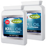 SUPERBA Red Krill Oil 500mg EXTRA Strength 240 Capsules Sofgels Made In Uk