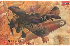 RODEN 408 1/48 Gloster Gladiator Mk.l