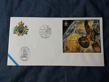 SAN MARINO BUSTA FDC 2012