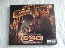 E-40 Block Brochure: Welcome Vol.1 2012 release from the Hip Hop heavyweight