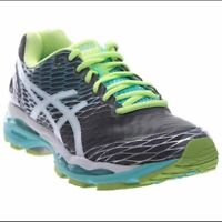 ASICS Gel Nimbus 18 Running Women's Shoe Size 8 US Green T650N WIDE (D)