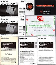 Manuali USER GUIDE-Macchina Fotografica FUJI FILM Finepix 2300 Guide Software ++