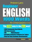 Preston Lee's Beginner English 1000 Words For Chinese Speakers, Like New Used...