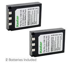 2x Kastar Battery for Olympus LI-10B C-760 C-765 C-770 Ultra Zoom C-5000 Zoom