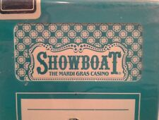 RARE Showboat Mardi Gras Casino Playing Card Deck Complete
