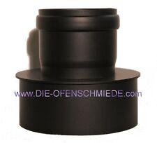 Erweiterung Ø 80 - 110mm Pelletrohr Rauchrohr Ofenrohr Pelletofen Rohr